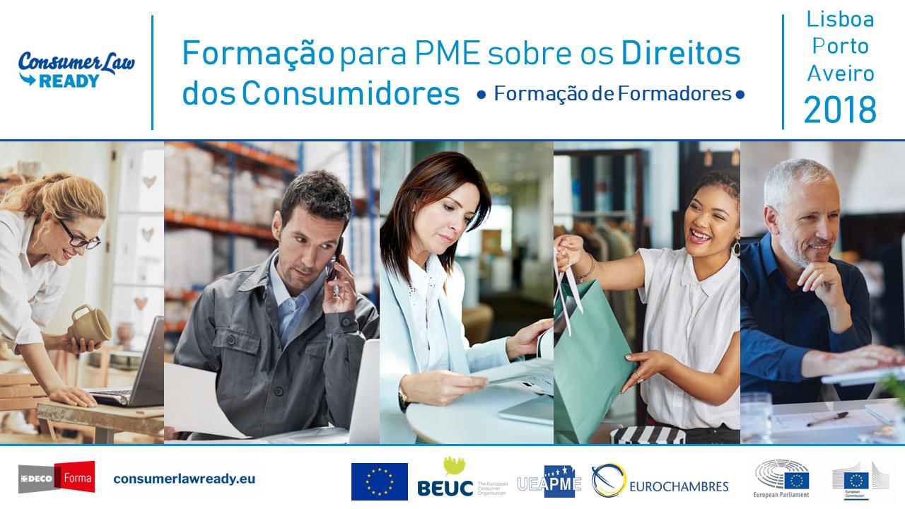 Formação para PME sobre os Direitos dos Consumidores
