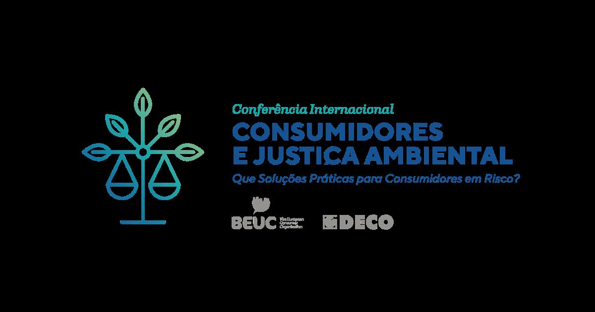 Conferência Internacional: Os Consumidores e a Justiça Ambiental