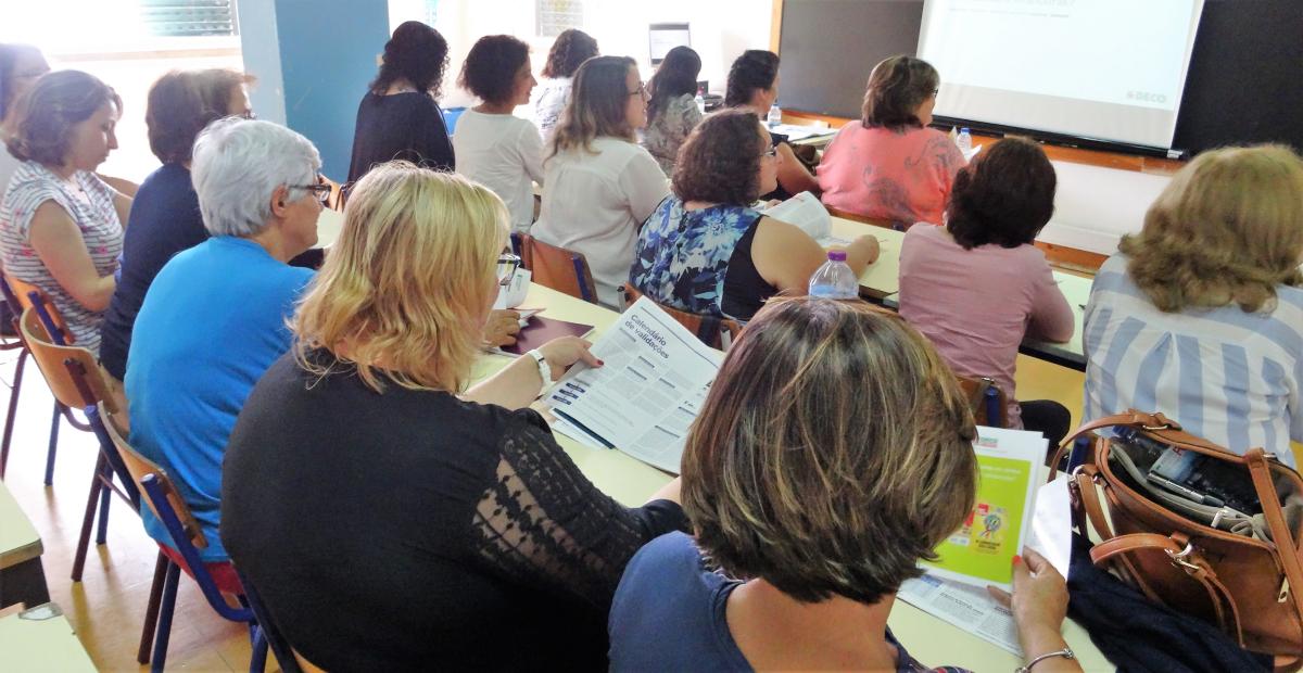 A DECO e o Municipio de Santarém promovem workshops nas escolas