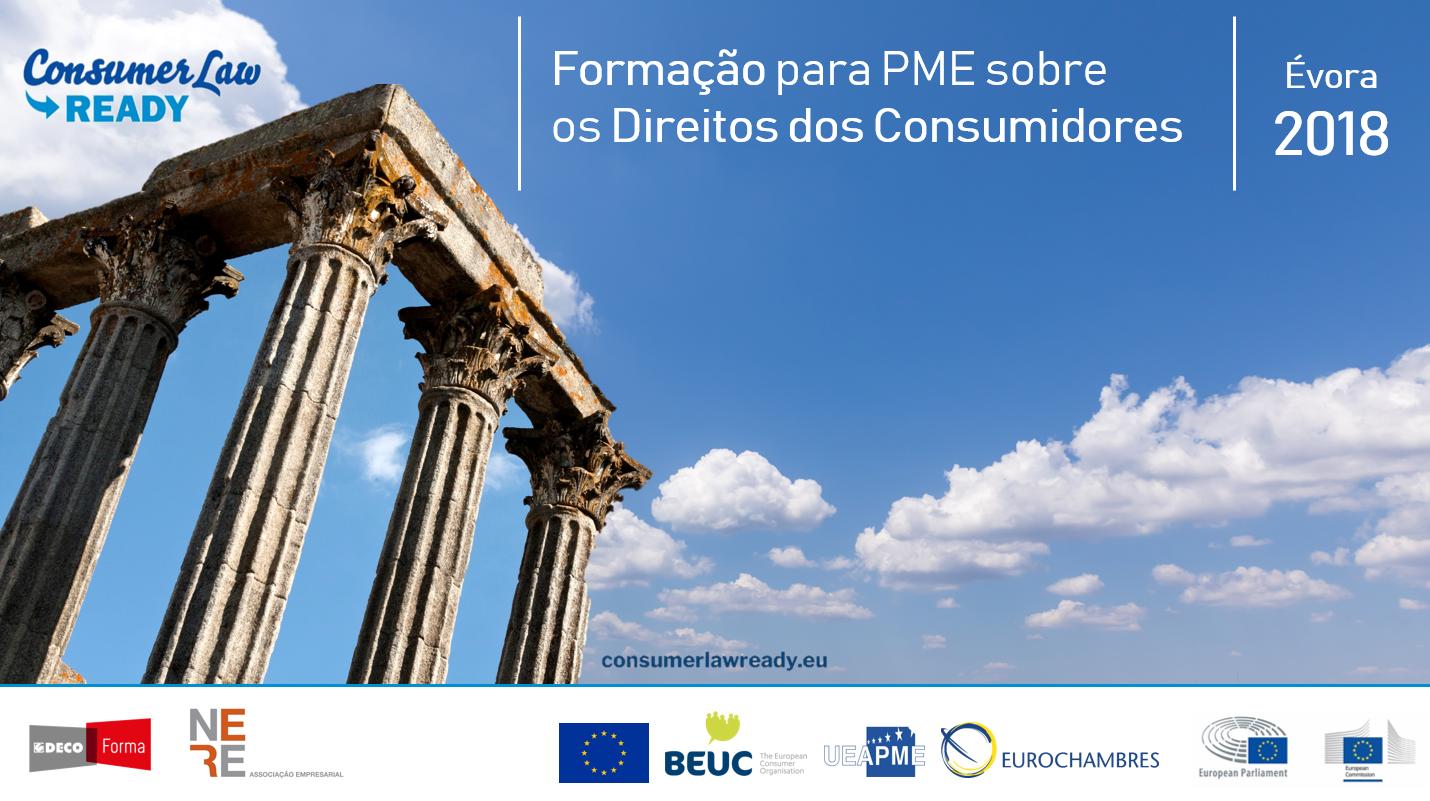 O projeto Consumer Law Ready chega a Évora