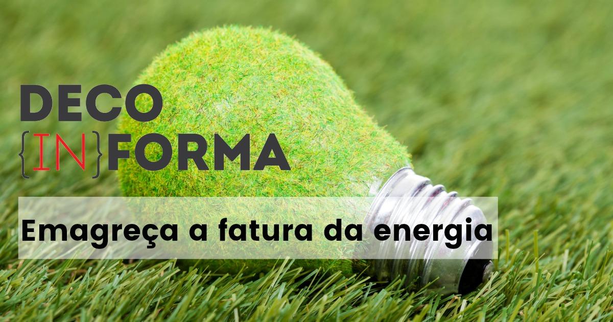 Gestos simples para poupar energia
