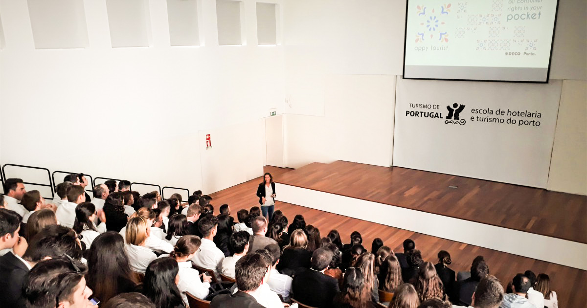 AppyTourist: DECO Norte apresenta projeto na EHT do Porto