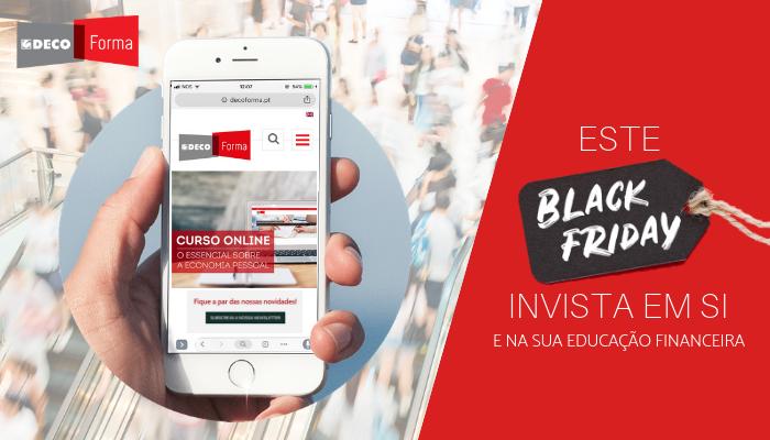 """Prepare-se para a """"Black Friday"""" investindo na sua educação financeira!"""