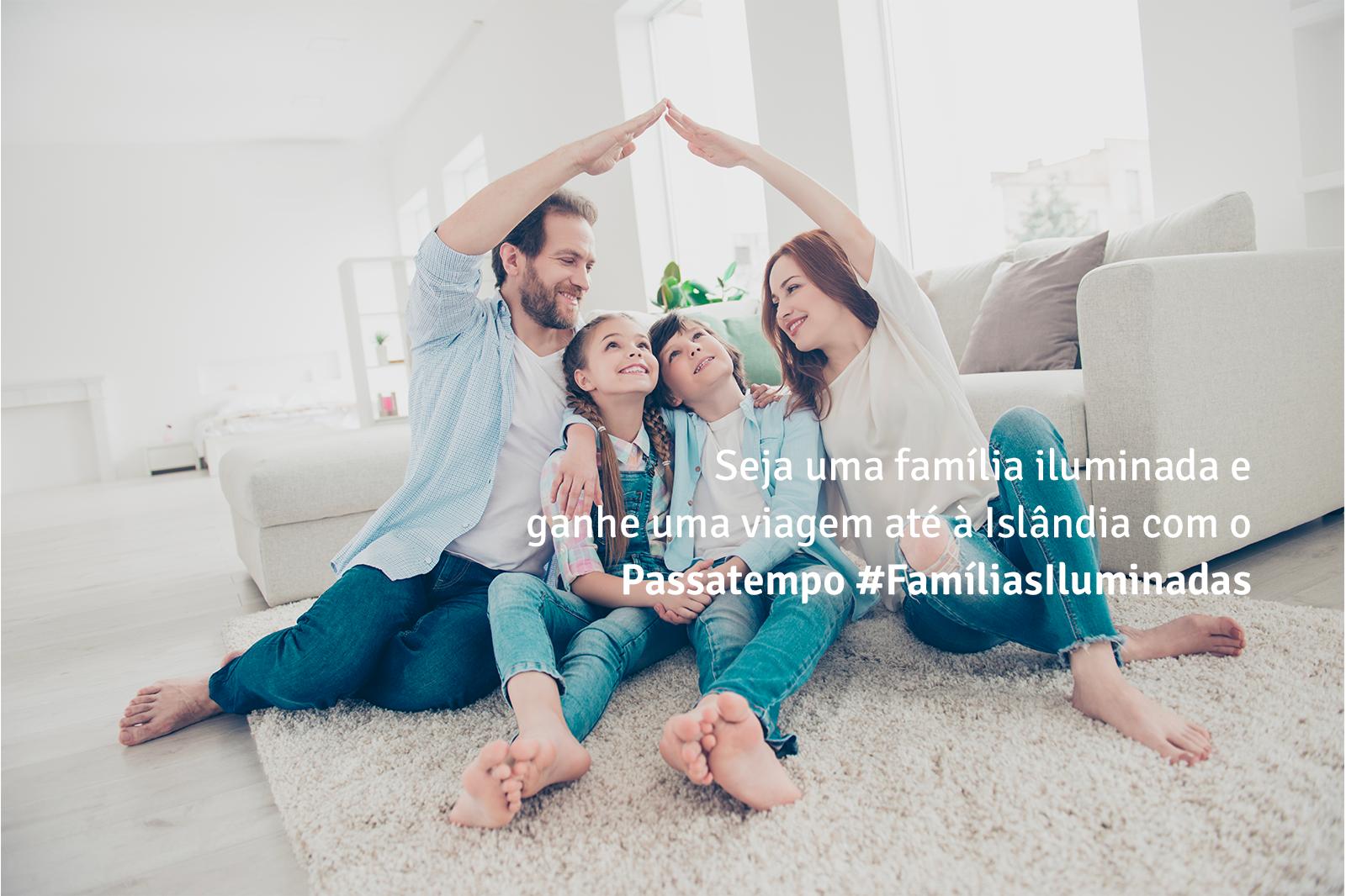 FATURA AMIGA leva famílias iluminadas à Islândia