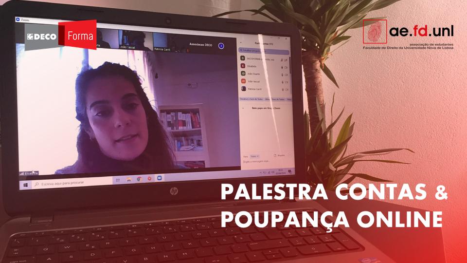 Contas & Poupança com a Faculdade de Direito da Universidade Nova de Lisboa