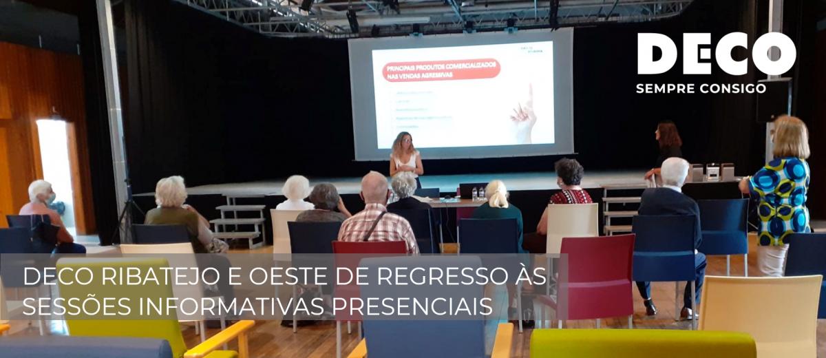 DECO Ribatejo e Oeste de regresso às sessões informativas presenciais